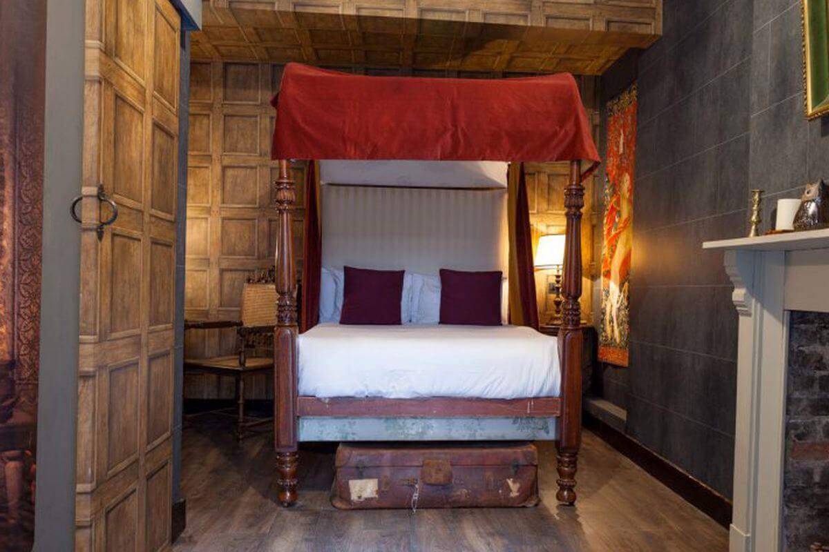 Klassiskt Harry Potter-sovrum