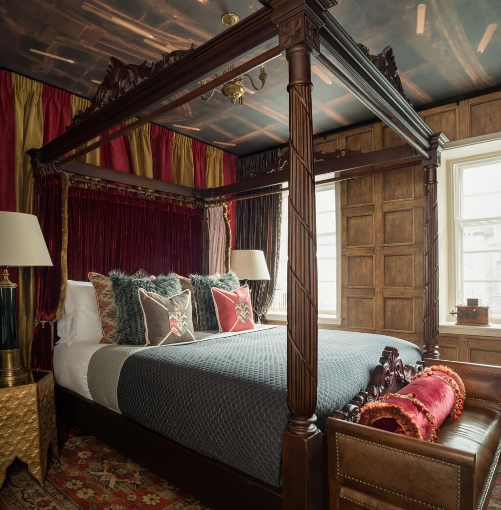 Förföriskt Harry Potter-sovrum