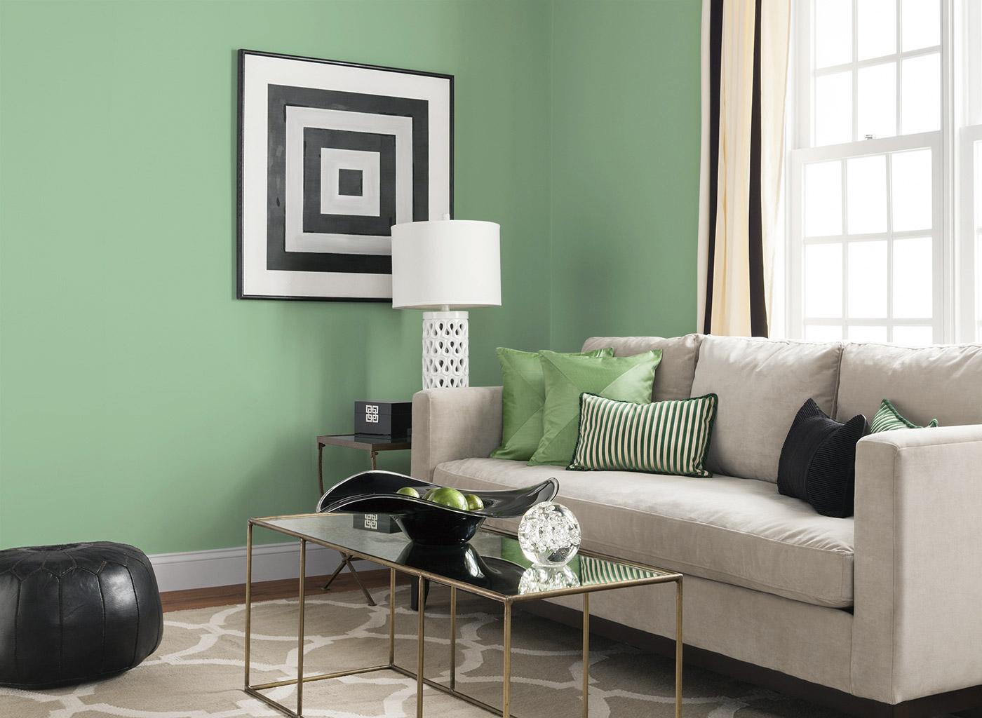 Lugnande grå och grön minispot