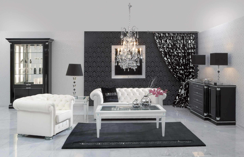 Graciösa, minimalistiska vardagsrum