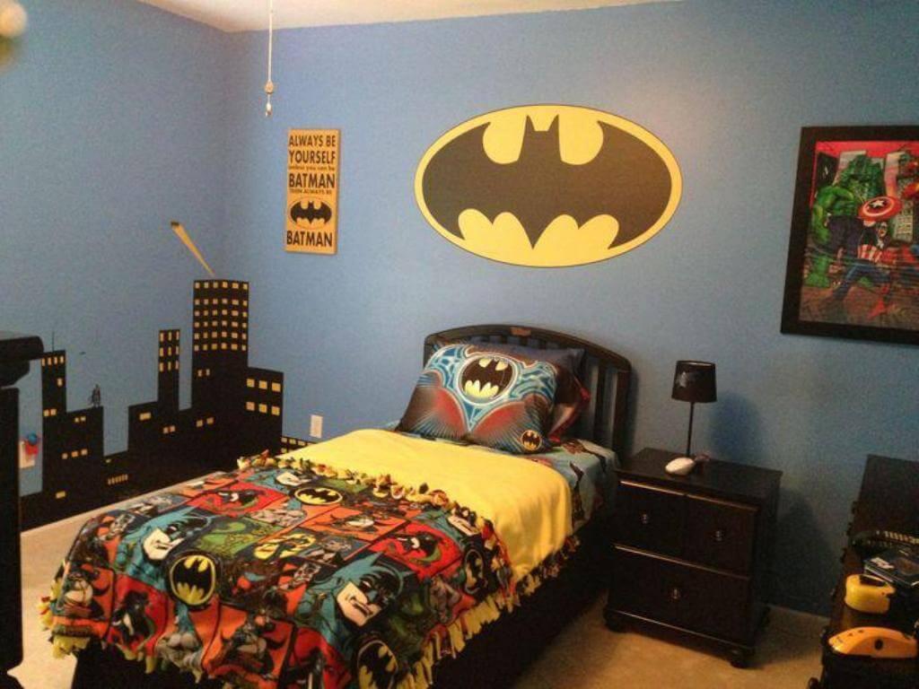 Perfekt superhjälte sovrum