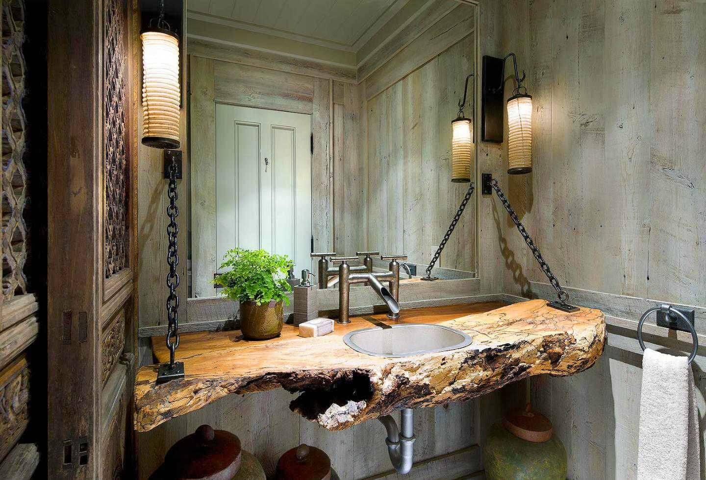Utmärkt stuga badrum