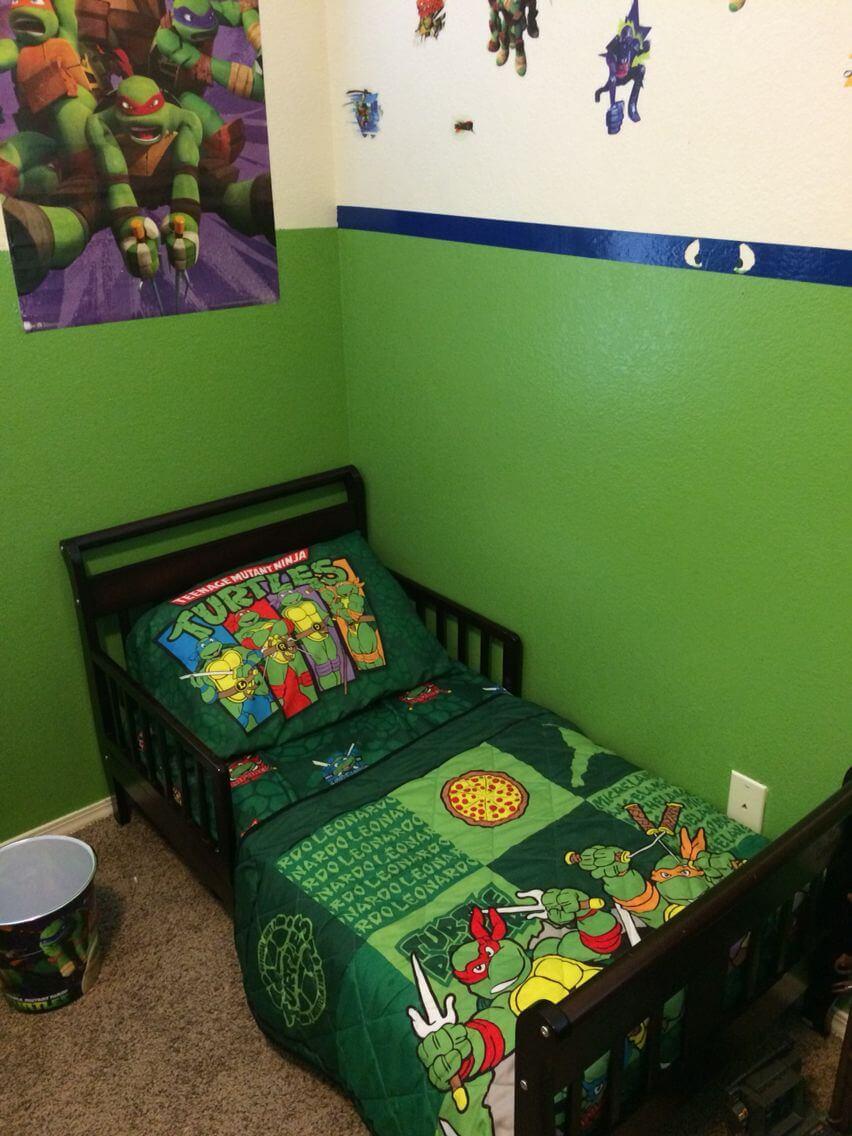 Billigt Ninja Turtles sovrum