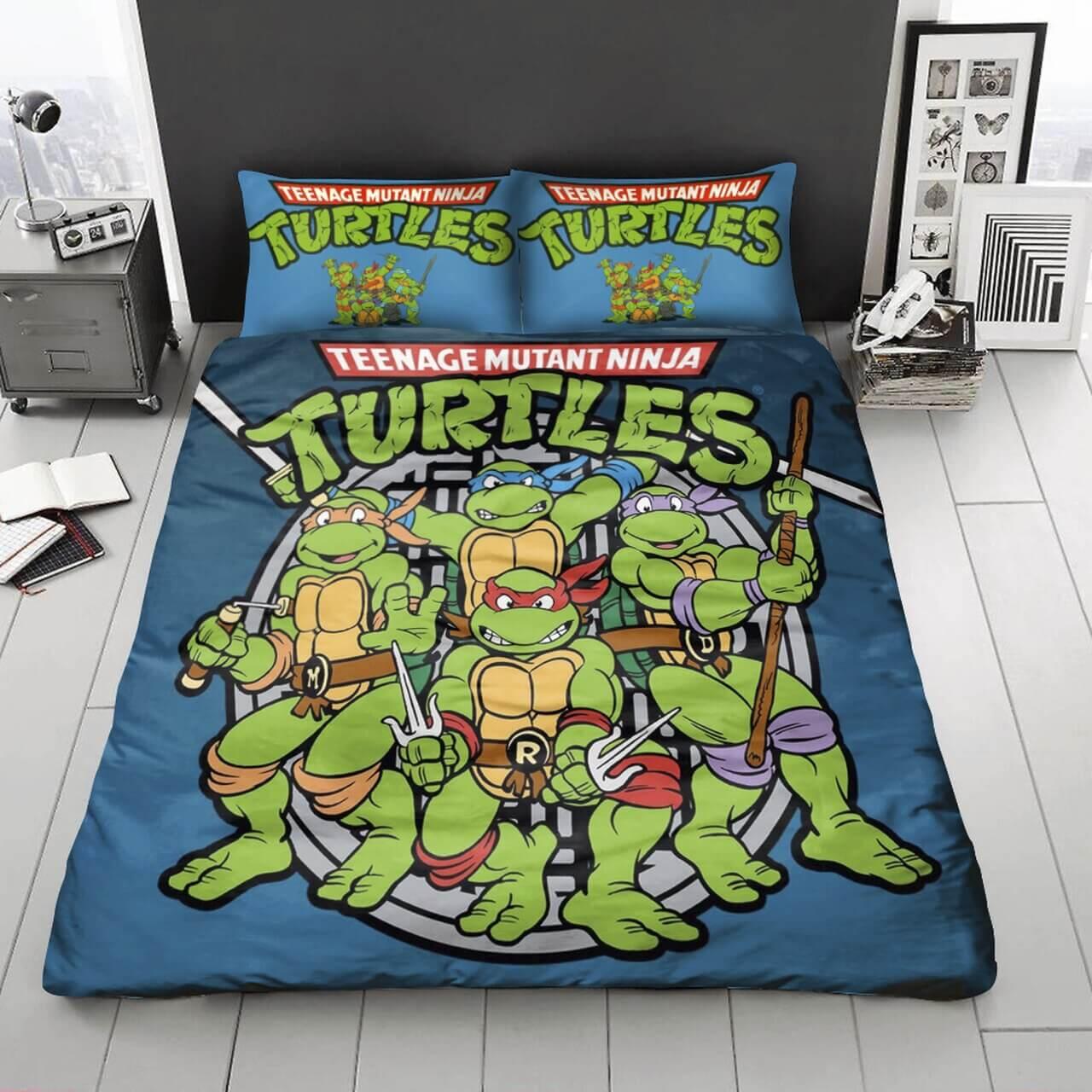 Mysigt Ninja Turtles sovrum