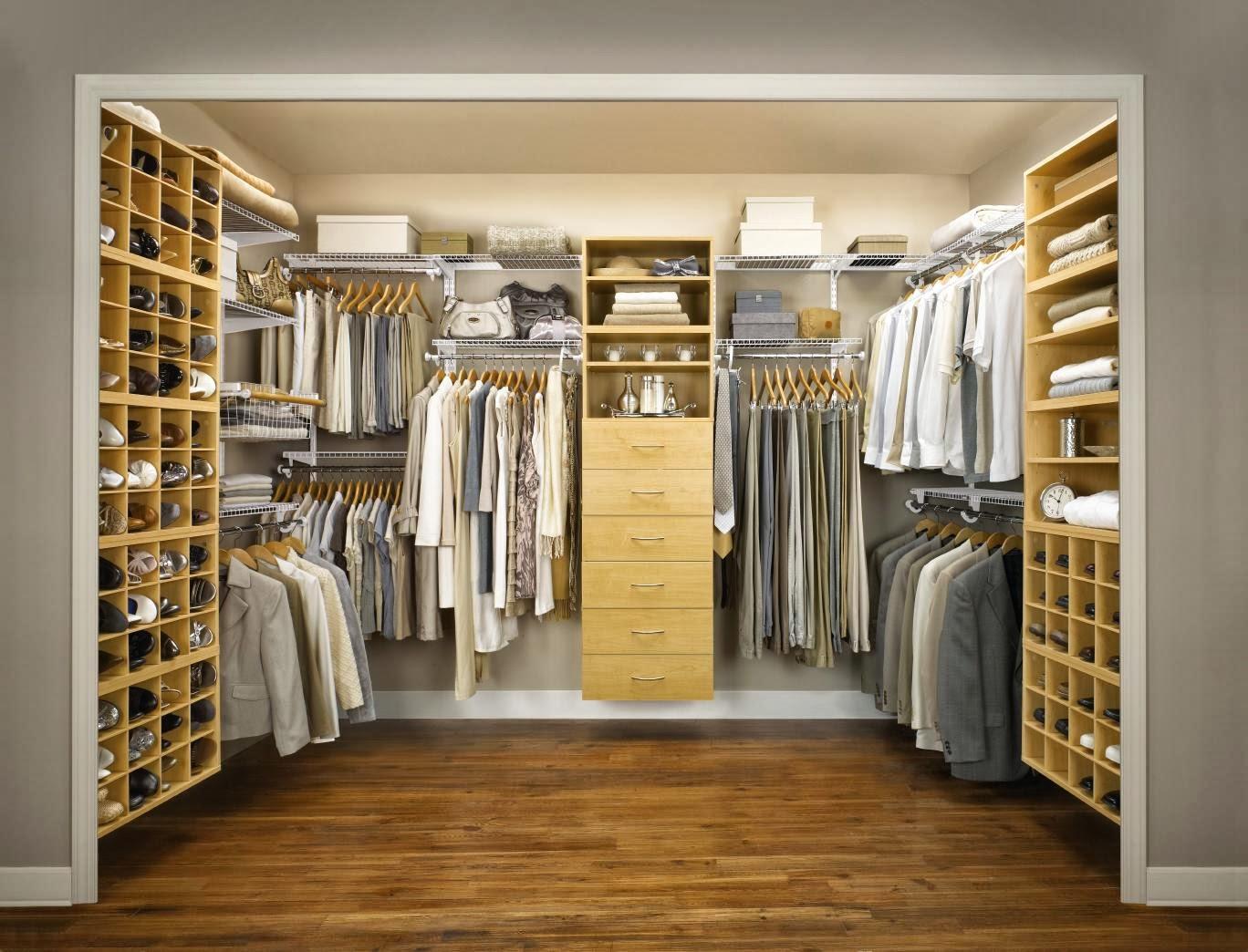 Fantastisk sovrum garderob