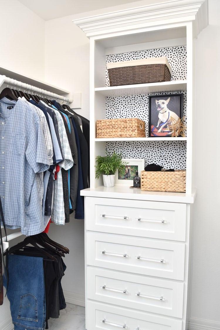 Billig sovrum garderob