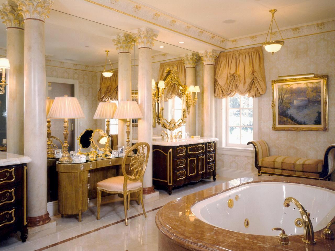 Extravagant guldbad