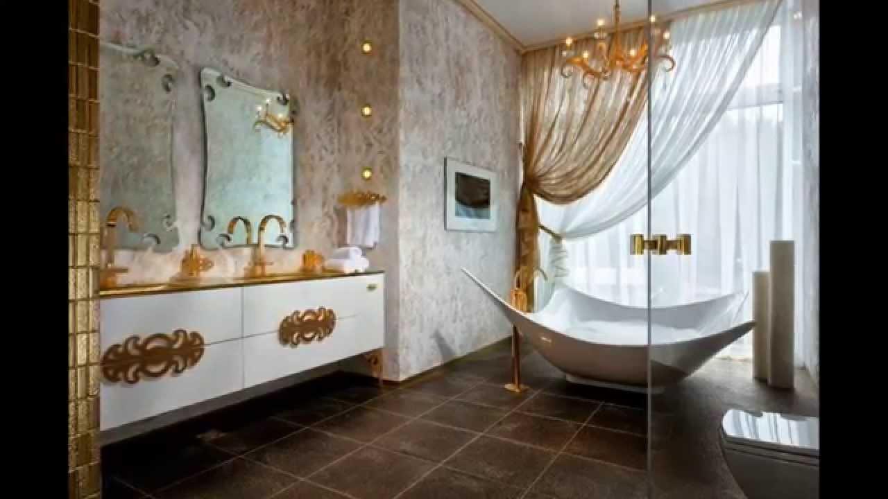 Fantastiskt gyllene badrum