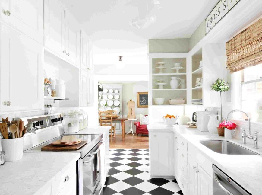 Lura dina ögon med allt vitt i ditt kök