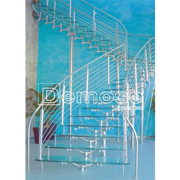 Akryl dekorativa inomhus härdat glas trappor paneler - Köp.