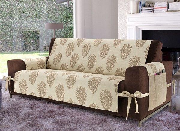 15 avslappnade och billiga sofföverdragsidéer för att skydda dina möbler.