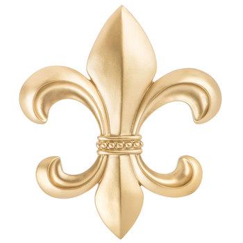 Guld Fleur-De-Lis väggdekor |  Hobbylobbyn |  15514