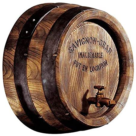 Amazon.com: Design Toscano French Vineyard Decor Wine Fat Wall.