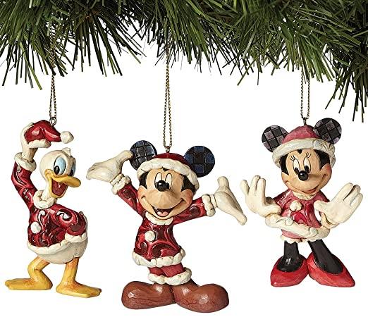 Amazon.com: Jim Shore Disney Traditions Mickey Minnie And Donald.