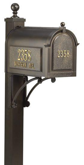 Whitehall anpassad brevlåda och postpaket    Bostadsbrevlådor.