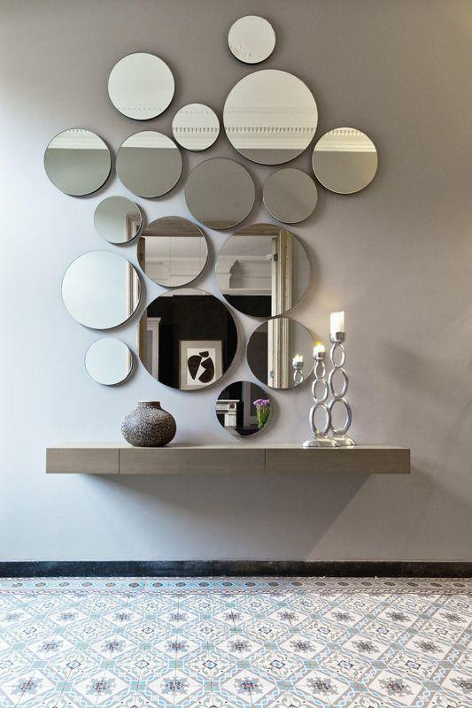 60+ Inspiration för väggspegeldesign - Arkitektsdagbok |  Spegel.