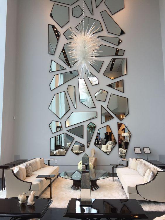 Fantastiska väggspegelsidéer för att lysa upp ditt hem - Housan