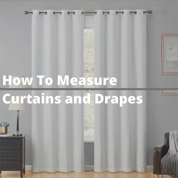 Hur man mäter för gardiner och draperier - Hushållslinnesamlingar HLC.