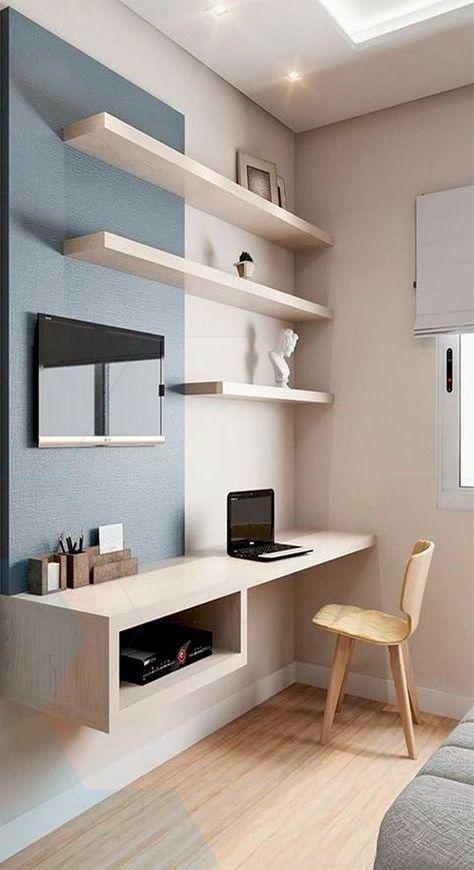 Melaminmöbler, melaminmöbler, litet flytande skrivbord för.