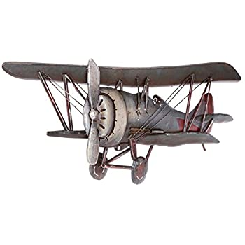 Amazon.com: Vintage Airplane Metal Wall Art Vintage Galvanized.