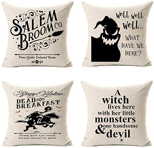 Amazon.com: MFGNEH Dead and Breakfast Halloween-kuddfodral.