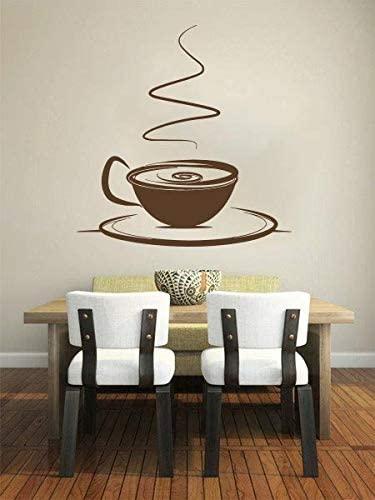 Amazon.com: Kök Kaffeväggdekaler Dekor - Kaffe temavägg.