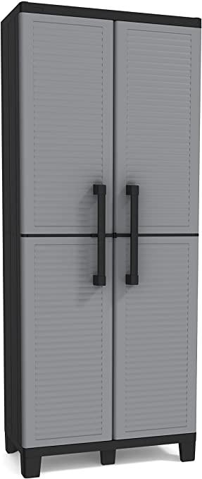 Amazon.com: KETER Space Winner Grey, Garageförvaringsskåp med.