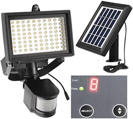 Amazon.com: Solar Security Light 80Leds Outdoor Solar Motion.