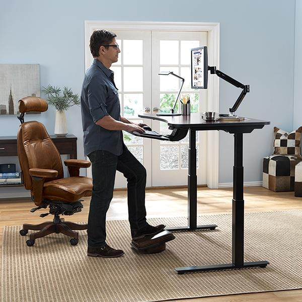 AdaptDesk Justerbart stående skrivbord - Koppla av Ba