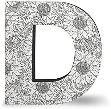 Amazon.com: DCI Color Joy Alphabet Letter, Block Letter D, Wall.