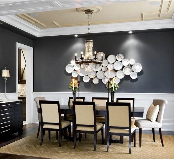 Dekorativa tallrikar i väggdekor: 15 inspirerande idéer    Hem .