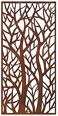 Amazon.com: Stratco dekorativ skärmpanel, skog.