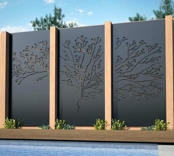 dekorativa utomhus sekretess skärmar utomhus sekretess skärm paneler.