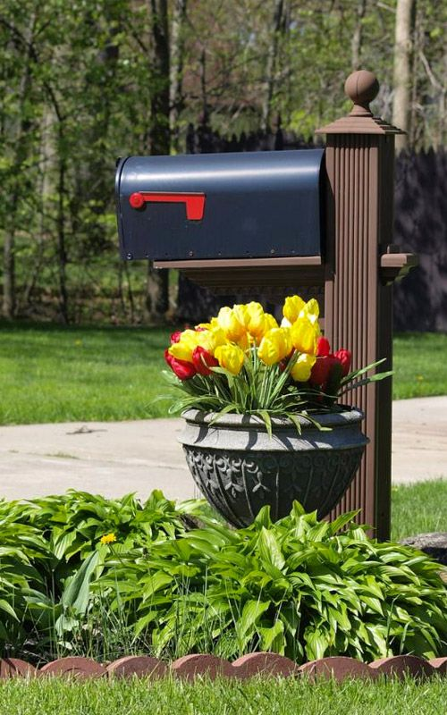 15 idéer för brevlådeplanterare för att sprida upp din gata |  Brevlåda.