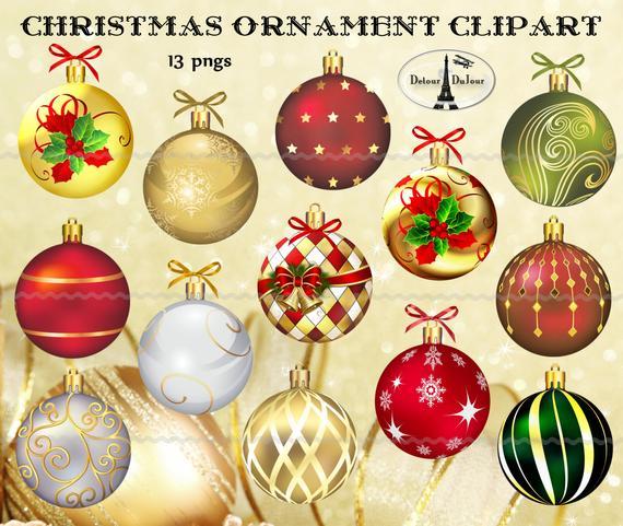 Digital nedladdning 13 julpynt Elegant jul    Et