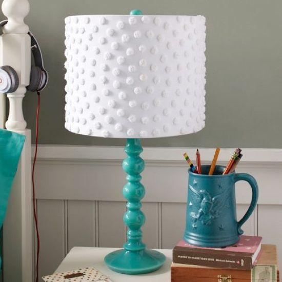 Coola lampskärmsidéer - Kubby för barn |  Lampskärm makeover, Diy lampa.
