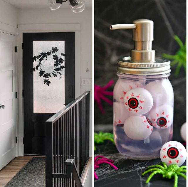 70 enkla DIY Halloween-dekorationer - Billig Halloween-dekoration