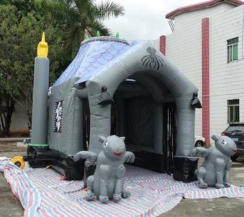 Halloween uppblåsbara spökhus till salu - Köp Halloween.