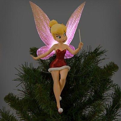 Disney Tinkerbell Tree Topper |  Tinkerbell och vänner, Tinkerbell.