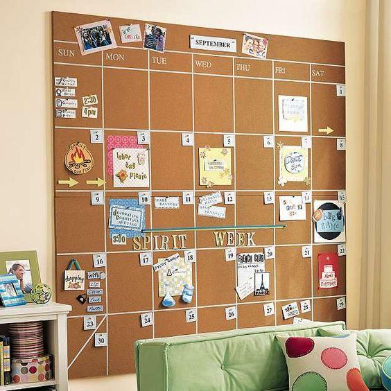 20 DIY Memo Board Idéer - Alla DIY Masters    Sovsal, sovsal.