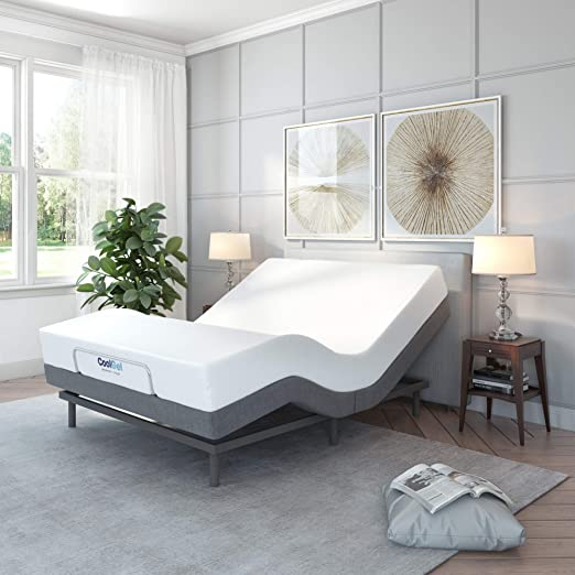 Amazon.com: Classic Brands Comfort Stoppad justerbar sängbotten.