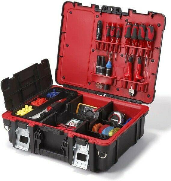 Keter 241111 Teknisk verktygsförvaringsfack med rem till salu.
