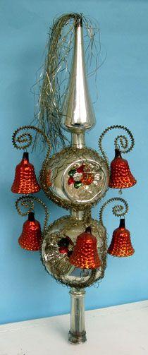 Vintage Christmas Tree Toppers    100+ idéer    vintage jul.
