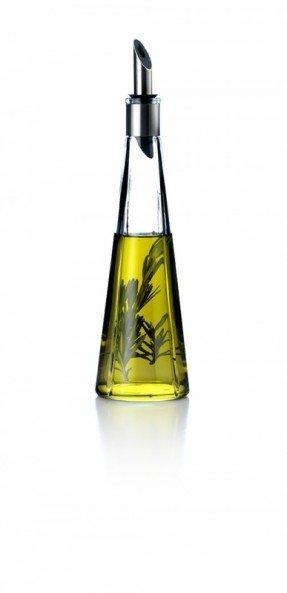 Flaskor med dekorativ olja och vinäger - Idéer på Fot