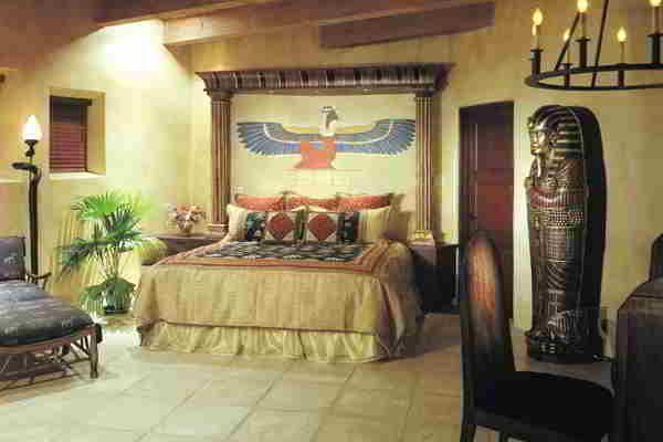 Avstängd webbplats |  Egyptisk heminredning, egyptiska möbler, sovrum.