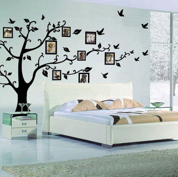 45+ vackra väggdekaler Idéer  Cuded |  Väggdekal för släktträd.