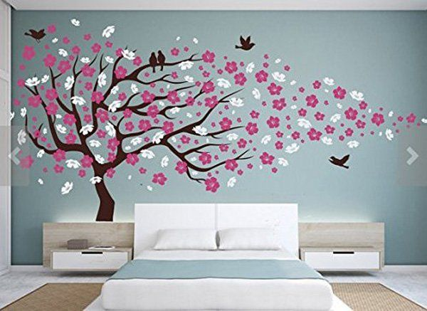 45+ vackra väggdekaler Idéer  Konst och design |  Rum för babyflicka.