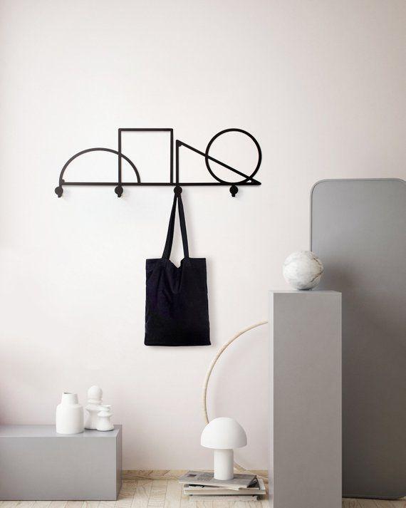 Modern Wall Hanger Wall Hanger Scandinavian Decor |  Etsy |  Modernt.