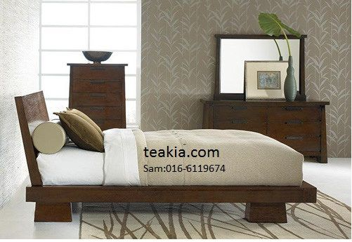 japanska sängram-teakmöbler malaysia-inomhusmöbler.