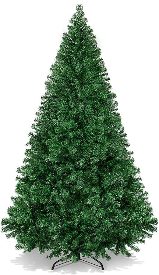 Amazon.com: Bästa valprodukter 6 fot gångjärn konstgjord jul.